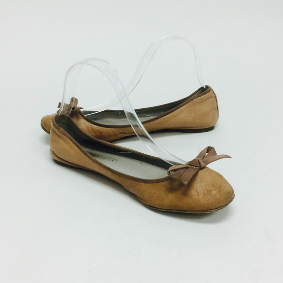 Vera Wang Leather Bow Flats 2015 new free shipping sneakernews discount supply 5qE3G